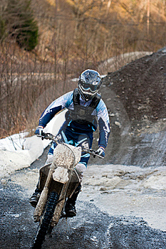 Motocross Royalty Free Stock Image - Image: 17793606