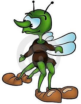 Four-legged Bug Royalty Free Stock Photo - Image: 17793975