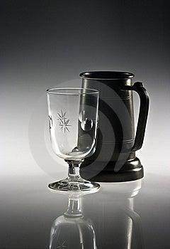 Mug And Glass Royalty Free Stock Images - Image: 17794119