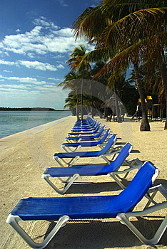 Beach Chairs Royalty Free Stock Photos - Image: 17795748