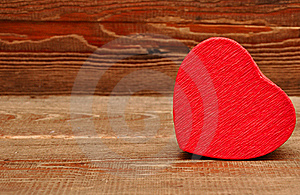 Red Box In Heart Shape Stock Images - Image: 17796144