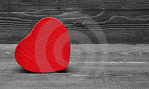 Red Box In Heart Shape Stock Images - Image: 17796184