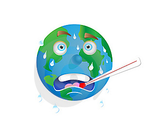 Earth Warming Royalty Free Stock Photography - Image: 17798287