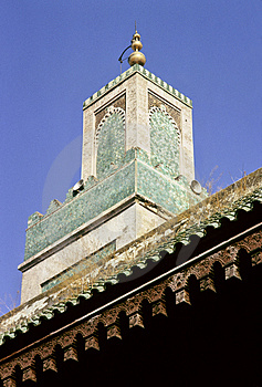 Meknes Minaret Royalty Free Stock Photos - Image: 1780118