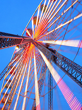 Ferris Wheel At Dusk Royalty Free Stock Photo - Image: 1782755