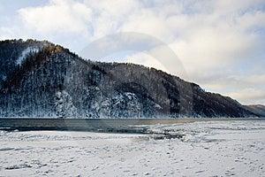 River Angara Near Lake Baikal Royalty Free Stock Image - Image: 1785386