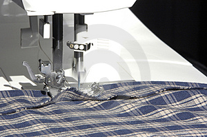 Sewing In Action Royalty Free Stock Photo - Image: 1787585