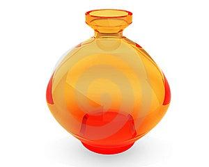 Orange Vase Royalty Free Stock Photography - Image: 17810157