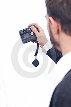 Man With Camera Stock Photography - Image: 17812062