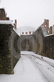Ancient Walls Of The Castle Stock Photography - Image: 17812972