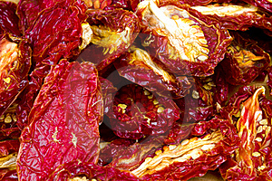 Sun-dried Tomatoes Stock Photography - Image: 17813012