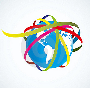 World And The Rings Royalty Free Stock Photos - Image: 17814998