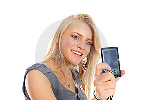 Portrait Of A Pretty Young Female Royalty Free Stock Images - Image: 17815099