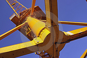 Heavy Industrial Crane Stock Images - Image: 17816374