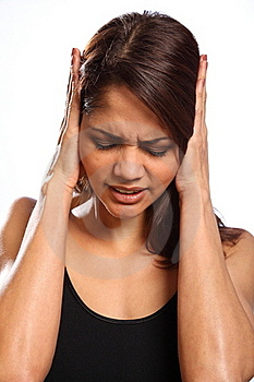 Pain Hurt And Disbelief From Young Woman Royalty Free Stock Photo - Image: 17817585