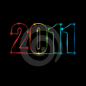 2011 Message Vector Background Royalty Free Stock Photos - Image: 17817618