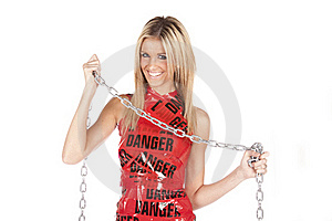 Danger Chain Smile Stock Photos - Image: 17818893