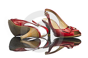 Red Shoe Royalty Free Stock Photo - Image: 17821525