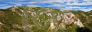 Asen Fortress Panorama Stock Photos - Image: 17821763
