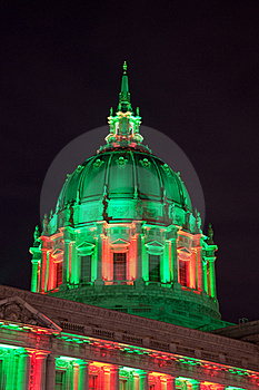 San Francisco City Hall Dome Stock Photo - Image: 17821810