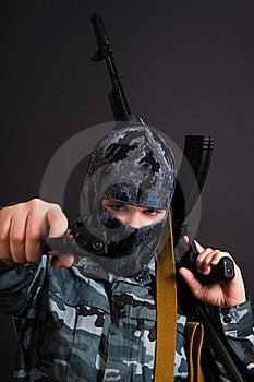Army Girl Stock Photo - Image: 17823570
