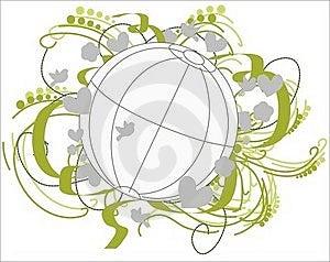 Fertile Environment Globe. Stock Photo - Image: 17823750