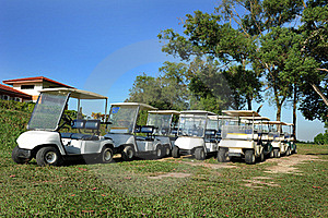 Golf Buggy Stock Photography - Image: 17826092