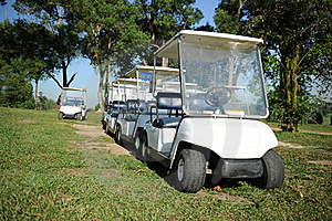 Golf Buggy Royalty Free Stock Images - Image: 17826219