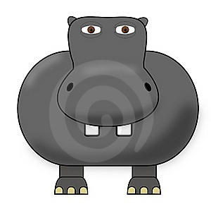 Cute Hippo Stock Images - Image: 17826864