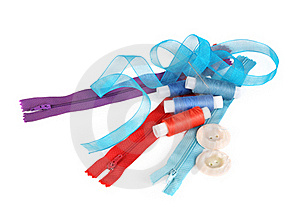 Sewing Accessories 2 Royalty Free Stock Photography - Image: 17828277
