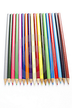 Coloring Pencils Royalty Free Stock Images - Image: 17829289