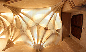 Vaulted Ceiling At Chateau De Chenonceau France Royalty Free Stock Image - Image: 17833206