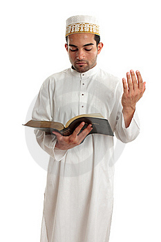 Teacher Or Preacher Reading From A Book Royalty Free Stock Images - Image: 17836809