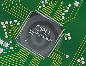 CPU Cicruit Stock Photos - Image: 17838073