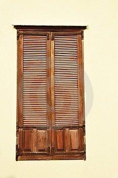 Antique Window Stock Photo - Image: 17838630