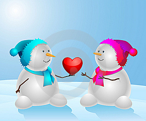 Snowman Final Royalty Free Stock Photography - Image: 17839237