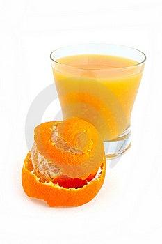 Tangerine And Juice Stock Photo - Image: 17842180