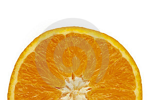 Slice Of Orange Royalty Free Stock Image - Image: 17846106
