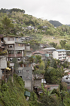 Housing In Banaue Philippines Royalty Free Stock Image - Image: 17847376