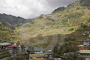 Rice Terraces In Banaue Philippines Royalty Free Stock Photography - Image: 17847417