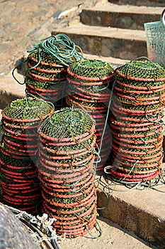 Traditional Fishing Net Royalty Free Stock Photography - Image: 17849597