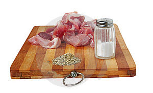 Pieces Of Meat Stock Images - Image: 17850714
