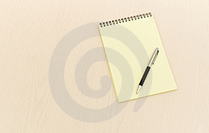 Yellow Note Book Royalty Free Stock Photos - Image: 17850908