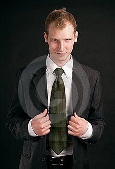 Adult Guy On Black Backout Stock Photography - Image: 17852882