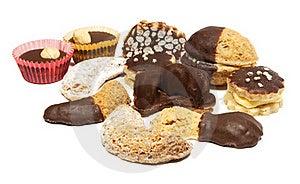 饼干圣诞节 免版税库存照片 - 图片: 17854375