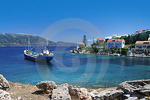 Greek Fishing Village Royalty Free Stock Photography - Image: 17854497
