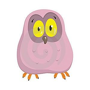 Cartoon Owlet Royalty Free Stock Image - Image: 17859066