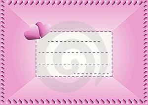 Love Envelope Stock Images - Image: 17860034