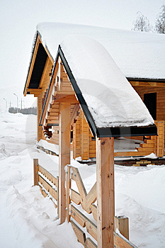 Wooden Entrance, Log Home Stock Photography - Image: 17863022