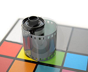 Roll Of Film Stock Images - Image: 17864124